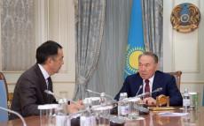 Нұрсұлтан Назарбаев Премьер-Министр Бақытжан Сағынтаевты қабылдады