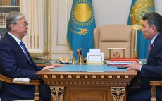 Kassym-Jomart Tokayev received Minister of Trade and Integration Bakhyt Sultanov
