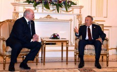 Meeting with Alexander Lukashenko, the President of the Republic of Belarus