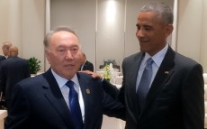 Meeting with the US President Barack Obama on the sidelines of G-20 Summit