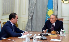 Meeting with Kairat Kozhamzharov, Chairman of the Agency for Civil Service and Anti-Corruption