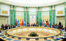 Participation in the Fifth Summit of the Cooperation Council of Turkic Speaking States
