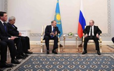 Meeting with the Russian Federation President Vladimir Putin