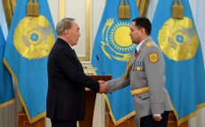 Meeting on the 25th anniversary of Kazakhstan's Internal Affairs and Police Day