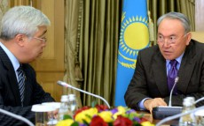 Meeting with Minister of Foreign Affairs Erlan Idrissov