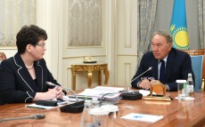Meeting with Natalya Godunova, Chairperson, Accounts Committee for Control over Central Government Budget Execution