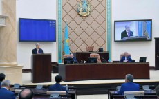 The Head of State participated in the session of the Senate of the Parliament