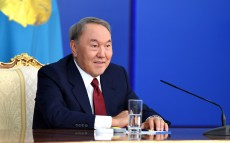 Press conference for the national and accredited in Kazakhstan media representatives