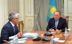Meeting with Arystanbek Mukhamediuly, Culture and Sports Minister