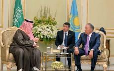 Мемлекет басшысы Amiantit Group компаниясының вице-президенті ханзада Турки бен Мұхаммад бин Фахдпен кездесті
