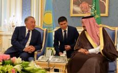 Елбасы Сауд Арабиясының Королі Салман бен Әбдел Әзиз Әл Саудпен кездесті