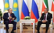 Meeting with President of Tatarstan Rustam Minnikhanov