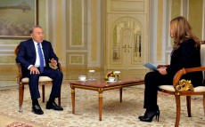 Қазақстан Президенті CNBC Arabia телеарнасына сұхбат берді
