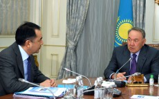 Meeting with Prime Minister Bakytzhan Sagintayev