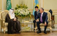Елбасы Ислам даму банкінің президенті Бандар бен Мұхаммад Хаджармен кездесті