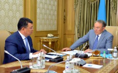 Meeting with Minister of Energy Kanat Bozumbayev